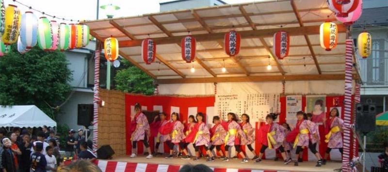 夢桜が、第27回原町地蔵尊祭りに出演しました。