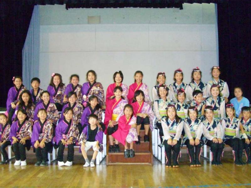 YOSAKOIソーランジュニア東日本大会(8月1日~8月2日 福島県天栄村)に、かわさき向魂、夢桜、SAKADO WINDSの合同チーム「夢向童風(ゆーがっどーぷ)」で参加。スマイル賞をいただきました。