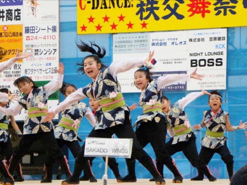 2009年11月14日、「SAKADO WINDS」が第8回秩父舞祭りに参加しました。