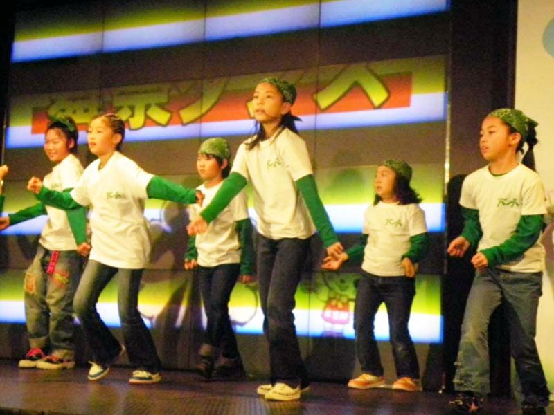 2009年11月21日、かわさき人権フェア2009に「夢桜」「ダンシンチェリーズドリーム」「下小KIDS DANCERS」が出演しました。