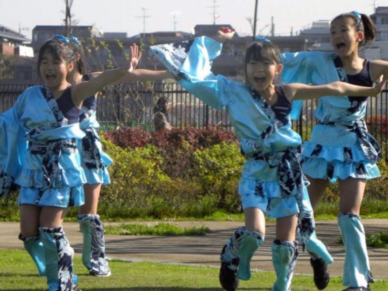2009年11月21日、カッパーク鷺沼 秋まつり2009に「SAKADO WINDS」「EMIダンスチーム」「チーム柿生こども文化センター」「チーム西梶」が出演しました。