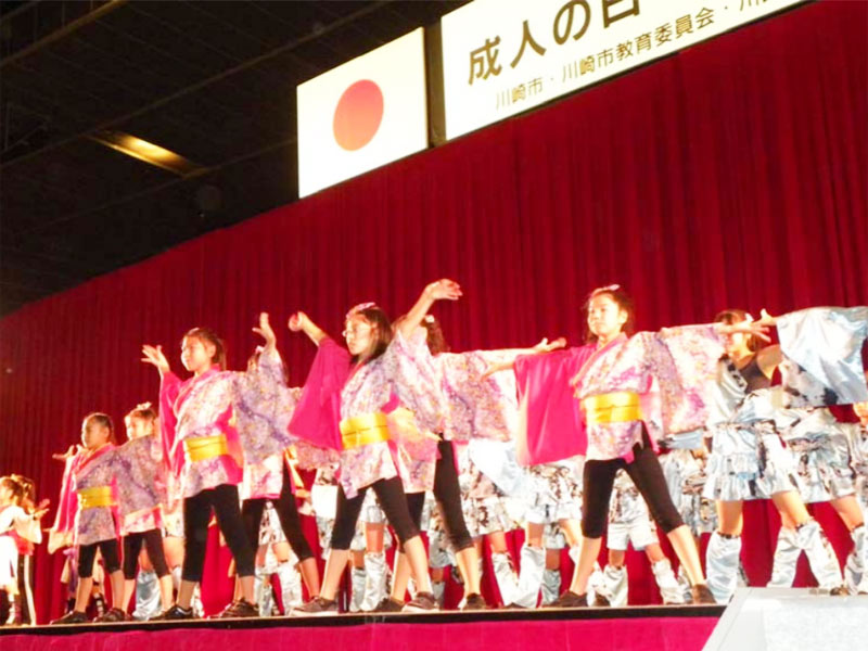 平成22年川崎市「成人の日を祝うつどい」